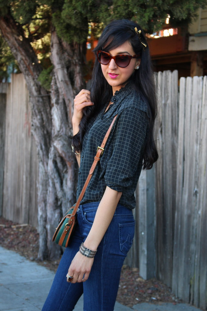 Checkered Blouse 6