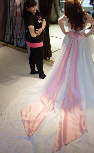 豐腴女孩也能挑到漂亮婚紗20