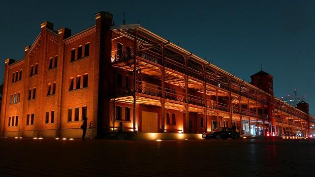 Yokohama Red Brick Warehouse. 横浜赤レンガ倉庫