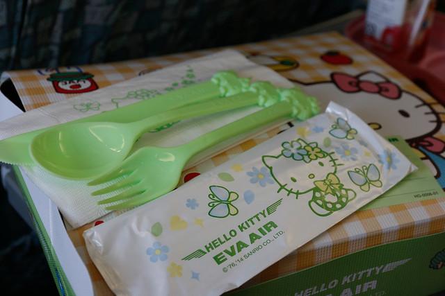 長榮航空 Hello Kitty 餐具