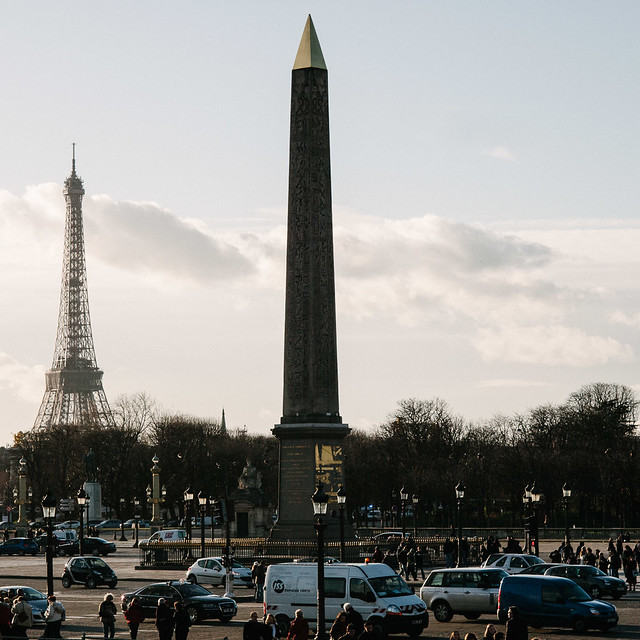 Concorde y Torre Eiffel