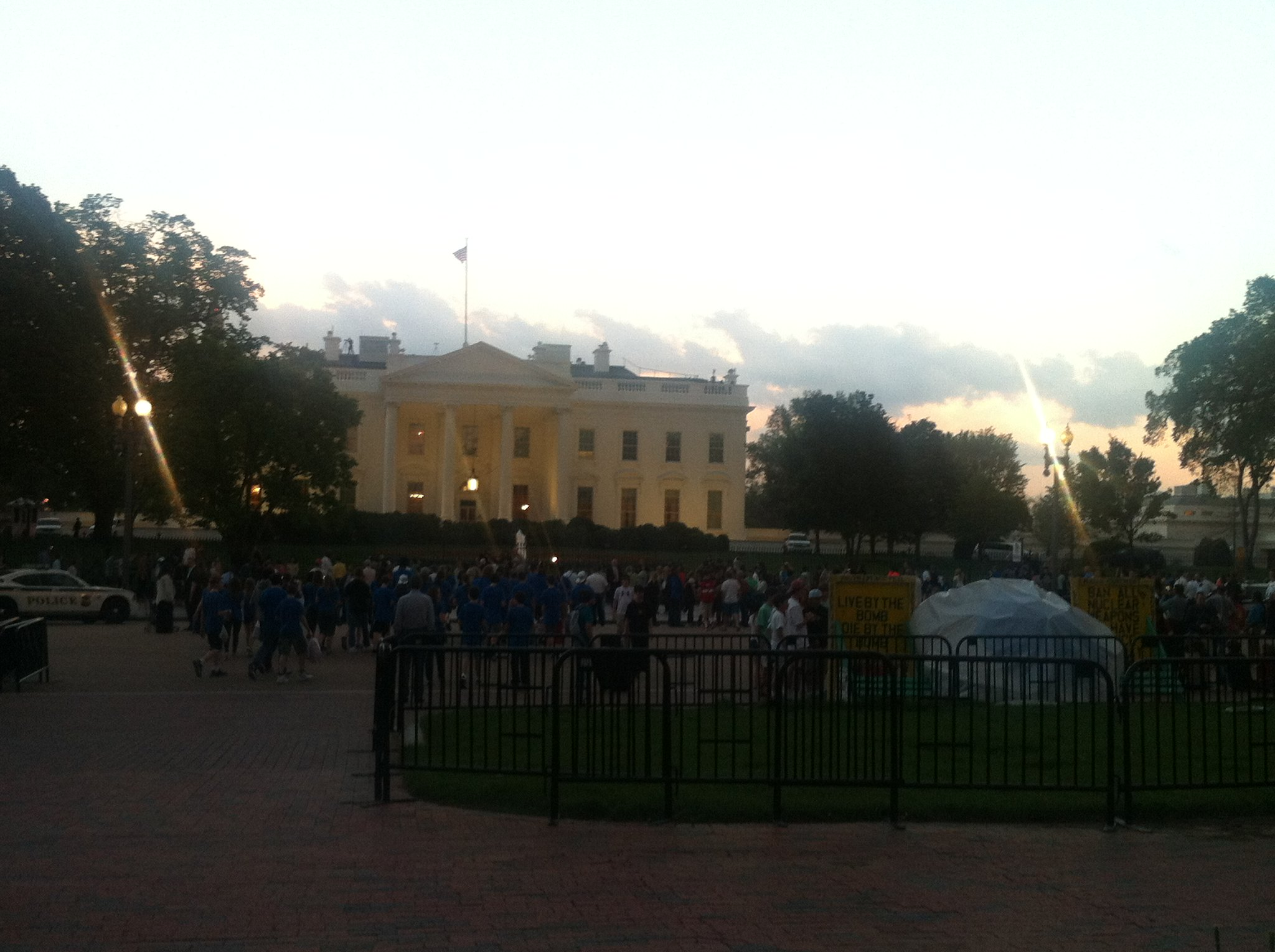 White House bike ride