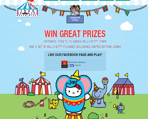 Nuffnang CPUV : Win Great Prizes Entrance Ticket to Hello Kitty Town