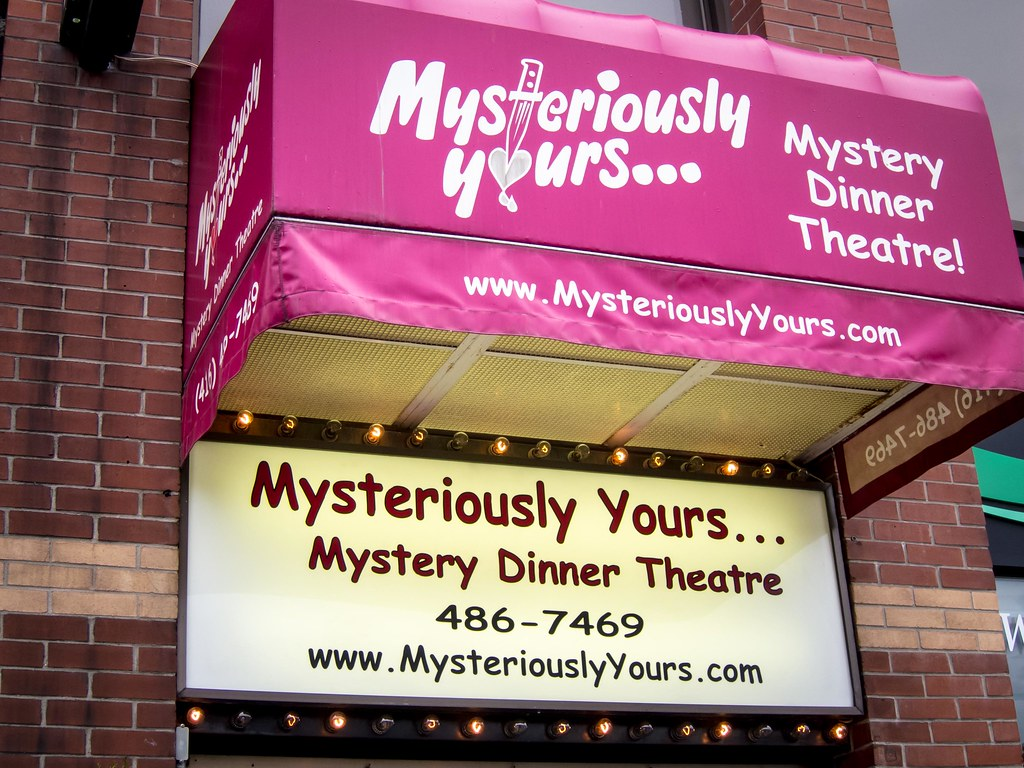 Mysteriously Yours Dinner Theatre