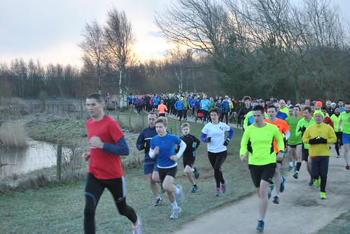 ParkRun at Rushcliffe Country Park