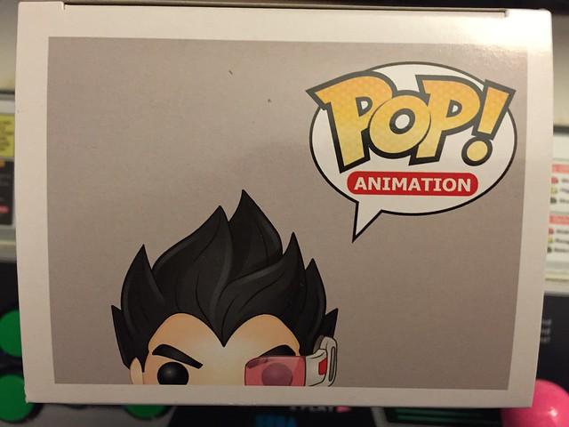 POP! Végéta - box (up)