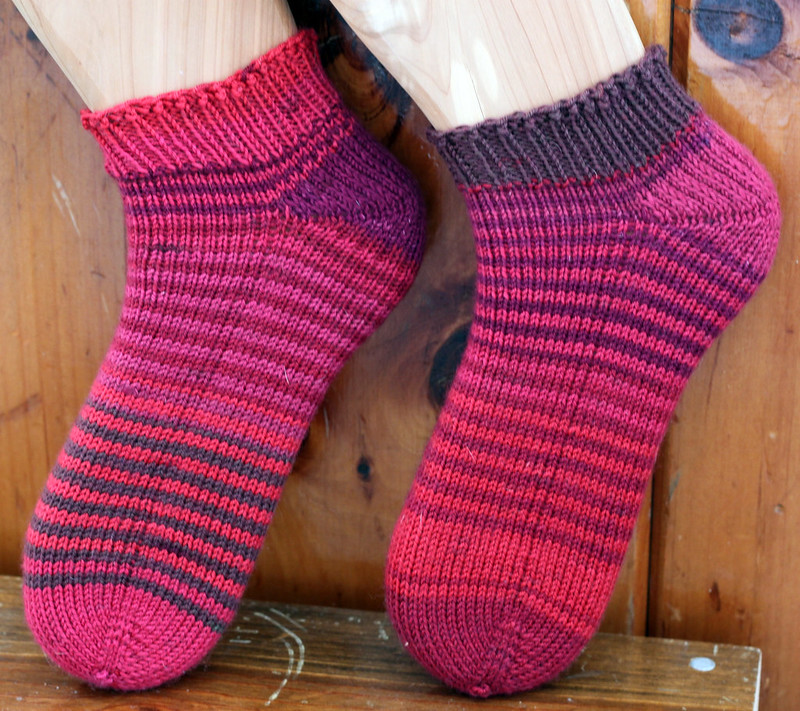 Personal Sock Club 2015: February socks