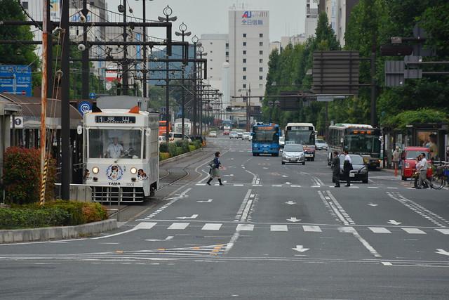 岡山電鉄:たま電車