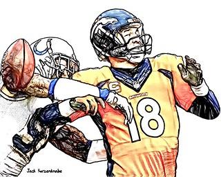 Denver Broncos Peyton Manning - Indianapolis Colts Jonathan Newsome