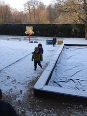 K1: de eerste sneeuw!