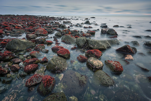 ocean longexposure travel red seascape nature water japan clouds landscape coast moss nikon rocks pacific filter chiba leslie taylor nd 日本 旅行 石 水 choshi 千葉県 太平洋 銚子 d610 ニコン neturaldensity テイラー レスリー lestaylorphoto