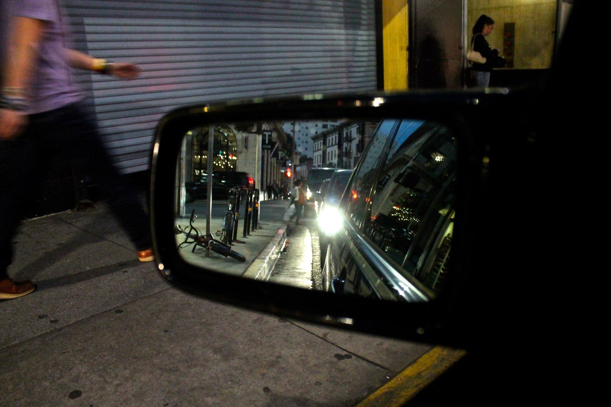 Downtown Los Angeles traffic via The Caffeinated Closet