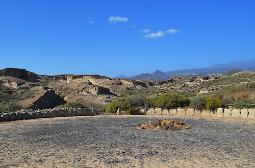 Threshing circle, San Blas Barranco, San Miguel de Abona, Tenerife