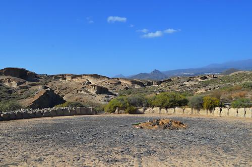 Threshing circle, San Blas Barranco, San Miguel de Abona, Tenerife