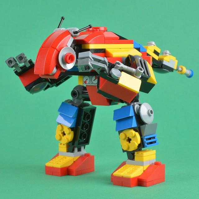 LEGO Creator - Clockwork Robot (31040) Alternative Model - Insect Mech