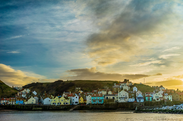 Staithes from the breakwater