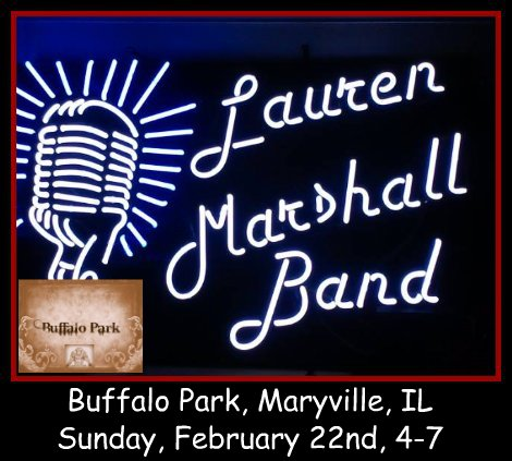 Lauren Marshall Band 2-22-15