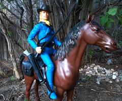 Marx General Custer on Patrol