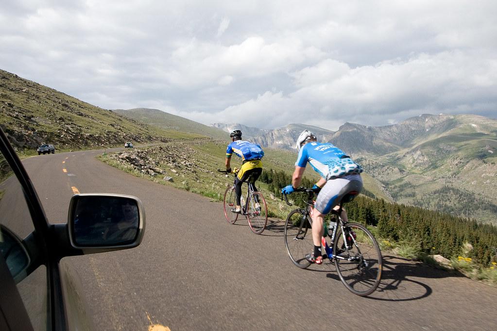12,000 ft biking