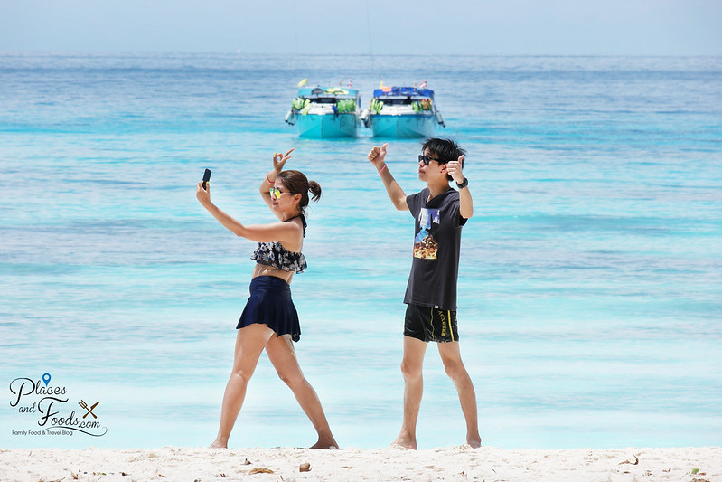 tachai island couple selfie