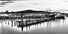 2016-05-24 Trident Seafoods Plant (B/W) (Long Exposure) (2048x1024)