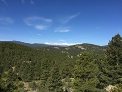 Mt Evans from Alderfer Three Sisters.