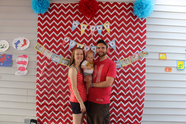 Peyton's 1st birthday party