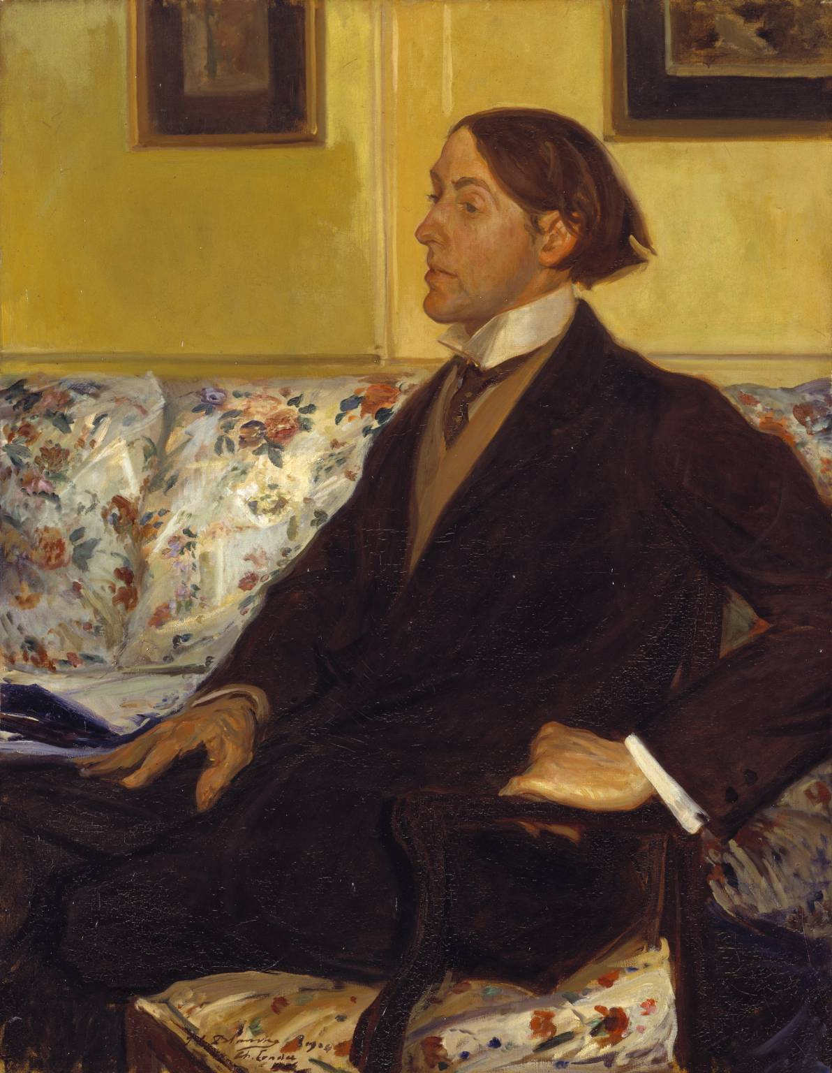 Charles Conder by Jacques-Emile Blanche, 1904