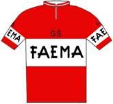 Faema - Giro d'Italia 1958