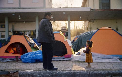 praktica l2 kodak gold 200 film 35mm analog iso canon 9000f griechenland greece mazedonien macedonia idomeni eidomeni grenze border refugee camp fyrom eu pentacon analogue