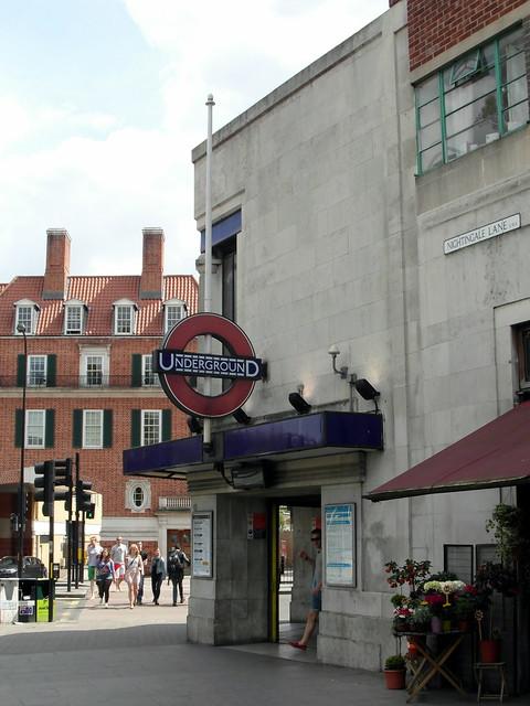 Balham London Tom Howard Gardens: Clapham South Tube Station