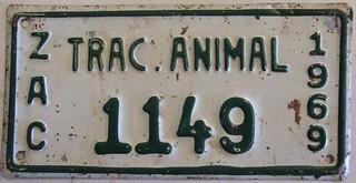 MEXICO, ZACATECAS 1969 ---ANIMAL DRAWN VEHICLE