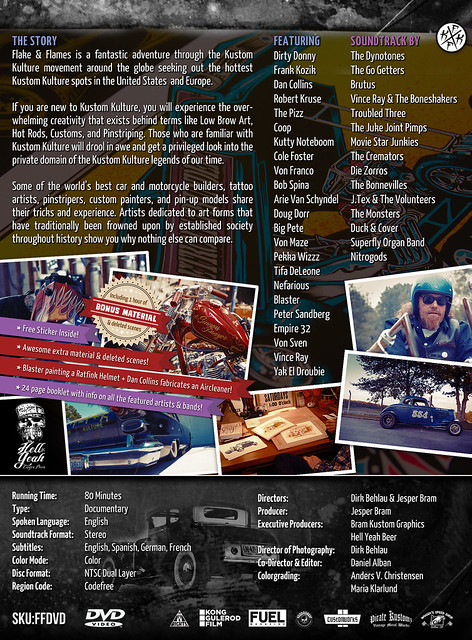 Flake & Flames DVD (Backcover)