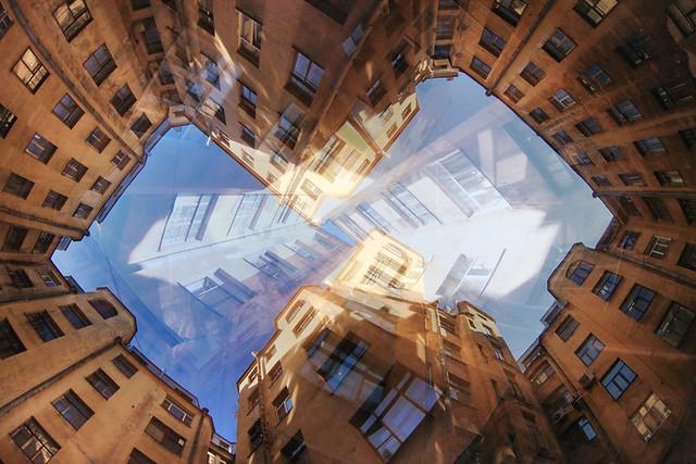 St.Petersburg Backyards kaleidoscope