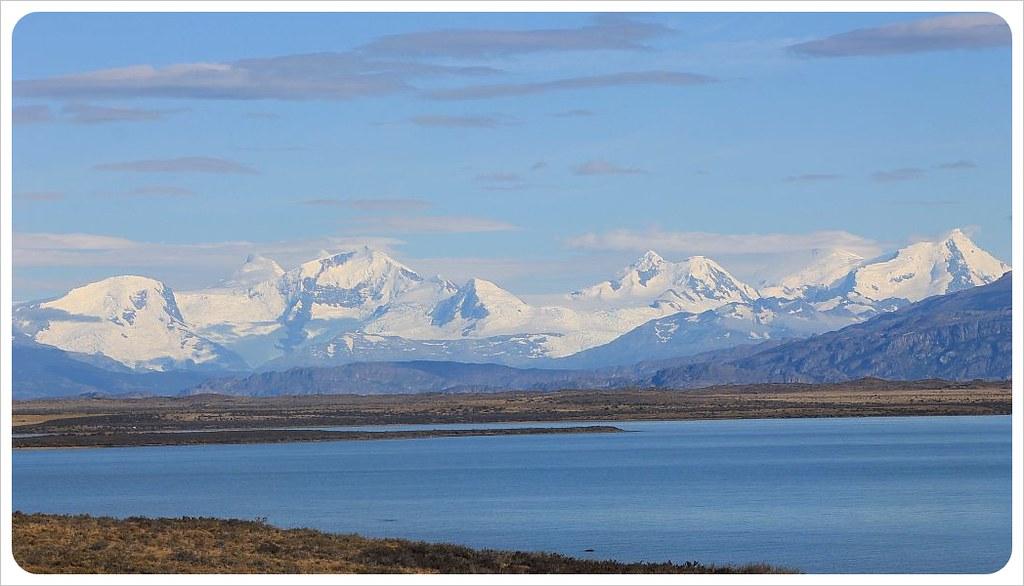 patagonia mountains and lake