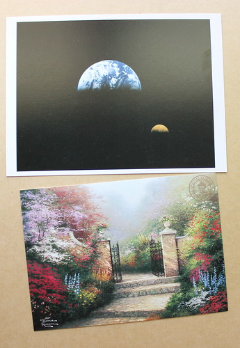 Thomas Kinkade & Earth Postcards