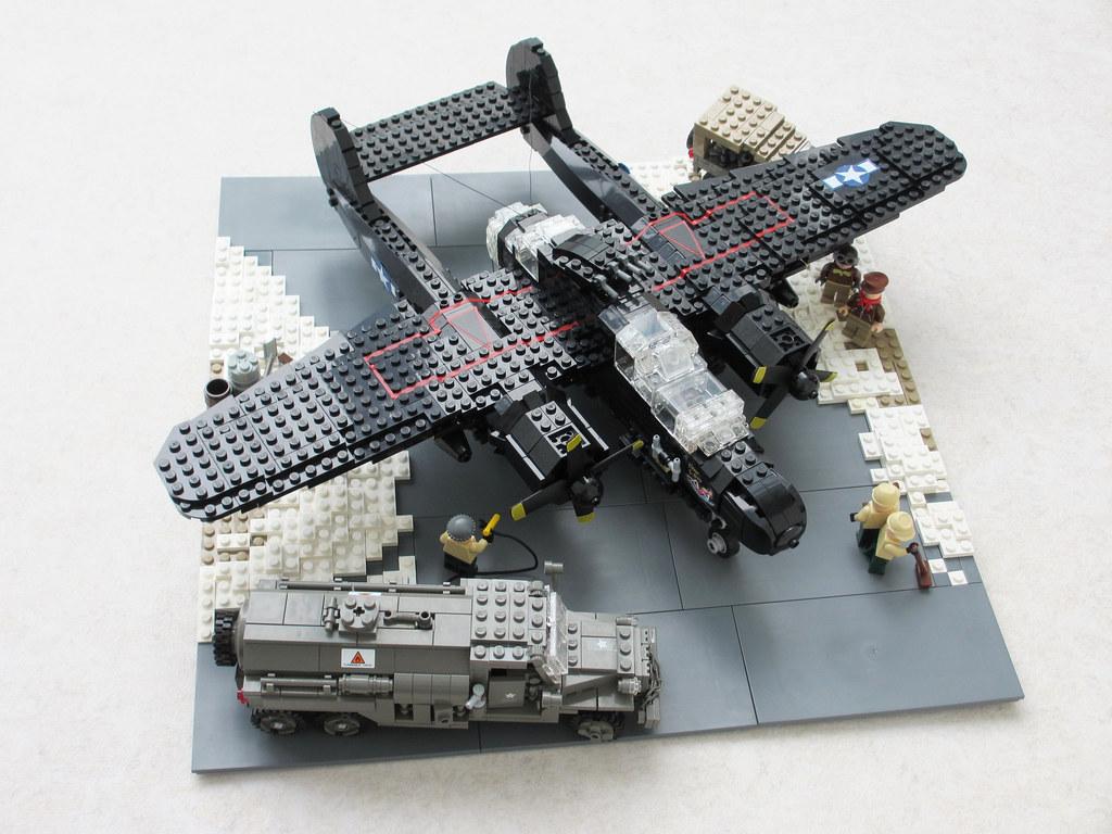 P-61 'Black Widow' diorama, v.2 (1)
