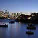 getting dark in Sydney Harbour by marin.tomic