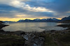 Twilight time @ Henningsvær beach