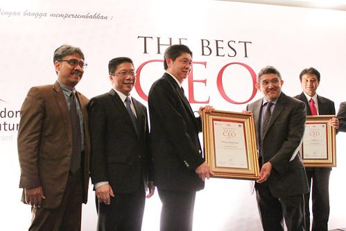 The Best CEO 2013: Martinus Subandi Sinarya.