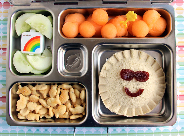 Sunshiney Preschool Bento #468
