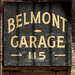 Belmont Garage Sign