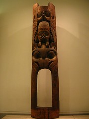 carving, art, brown, wood, sculpture, tiki, totem,