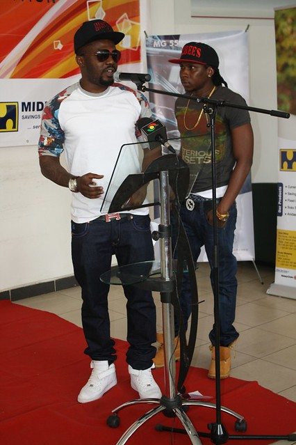 R2bees presented with Ghana Music Awards 'Artiste of the Year' car (10)