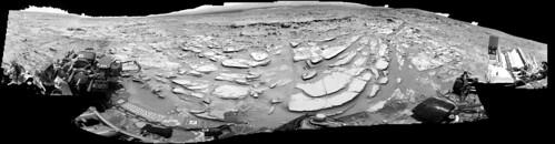 Curiosity sol 313 NavCam left