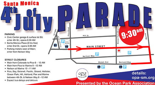 Main Street Santa Monica Parade