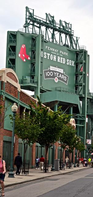 centennial of Fenway Park, boston