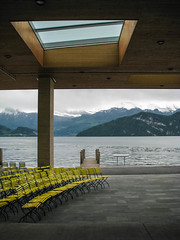 Lakeside stage