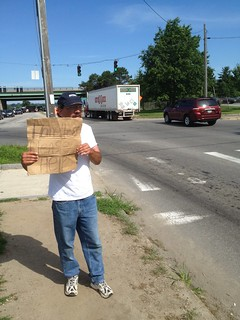 "A Panhandler Named ""Dave"""