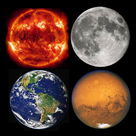 moon shots of earth and mars - photo #30
